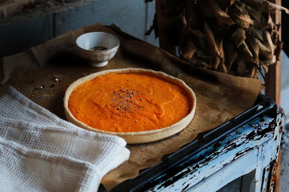 簡單美味我的南瓜塔 SIMPLE,DÉLICIEUX DE MON TARTE POTIMARRON