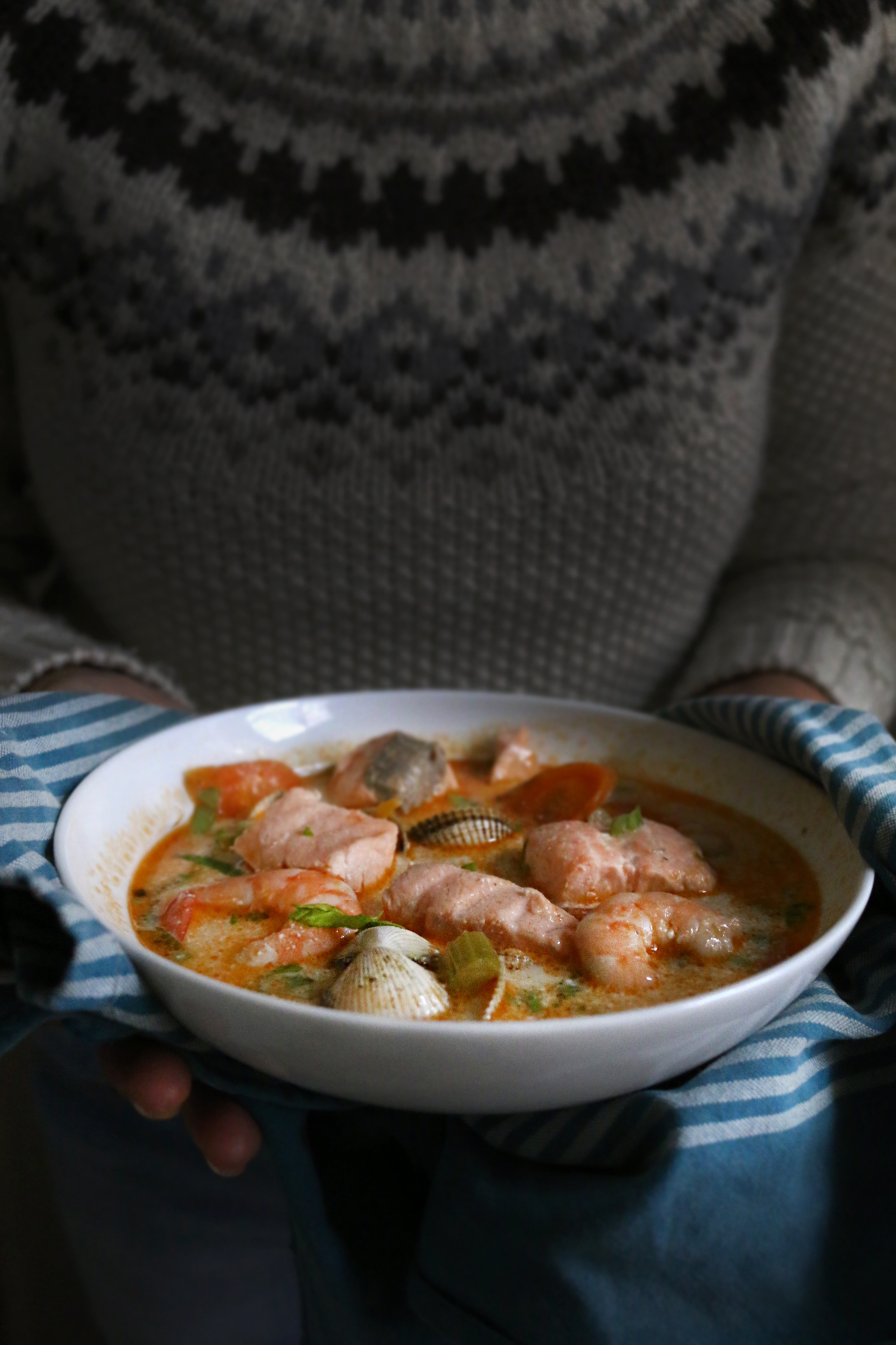 媽媽海鮮湯