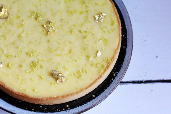 羅勒綠檸檬塔Tarte citron vert et basilic par Jacques Genin