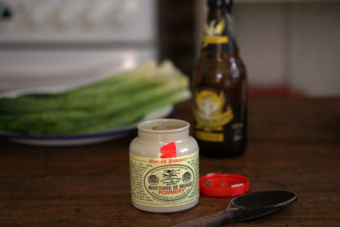 Alain Ducasee啤酒燉煮嫩蔥