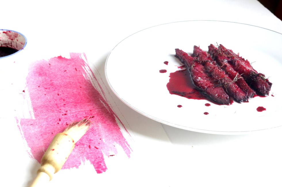 甜菜根堆漬鮮鮭魚GRAVELAX DE SAUMON À LA BETTERAVA-3
