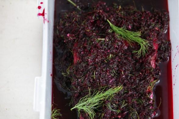 甜菜根堆漬鮮鮭魚GRAVELAX DE SAUMON À LA BETTERAVA-5