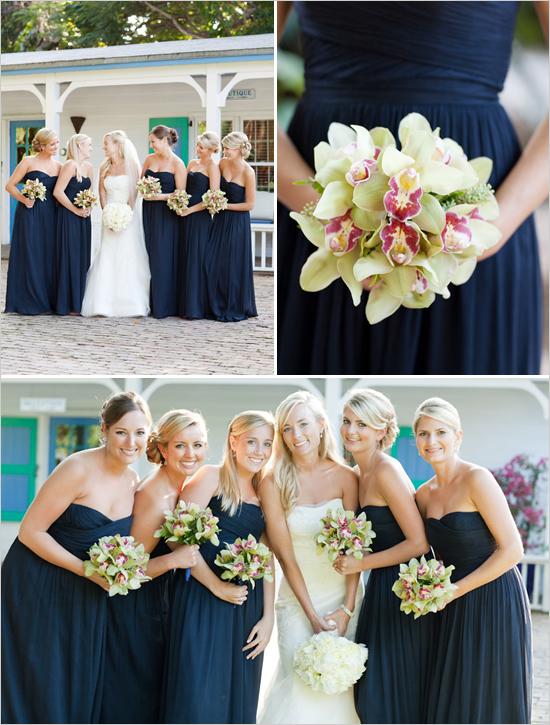 We all love navy blue bridesmaid dresses  lianggeyuan123