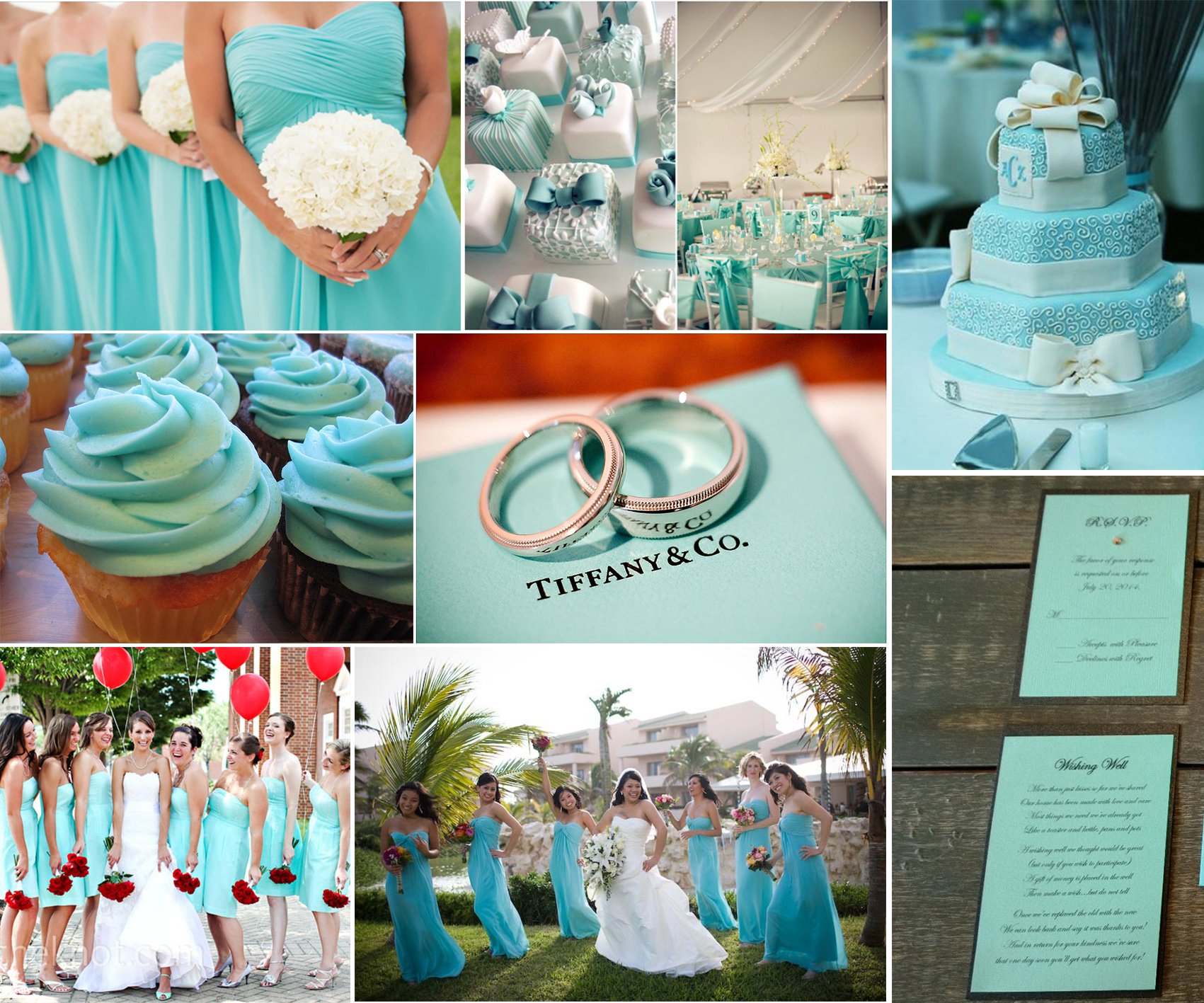 The Tiffany blue theme wedding ideas  lianggeyuan123