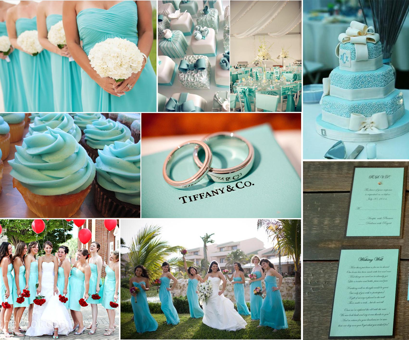 The Tiffany Blue Theme Wedding Ideas