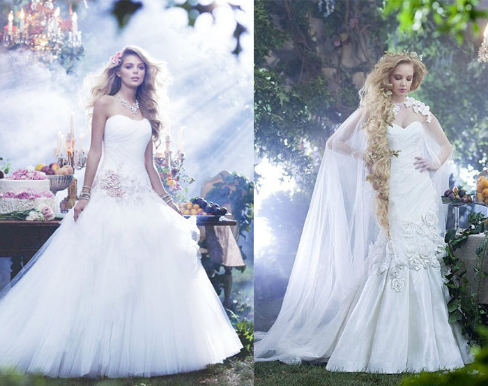 Wear Wedding Dresses Like Disney Princess