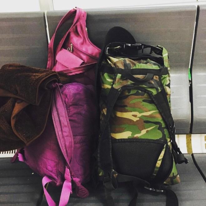 Sometimes a handbag comes along too