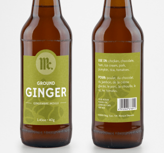 Ginger Bottle