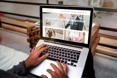 Prairie Weddings Web Design