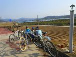 Bike rides to Damyang