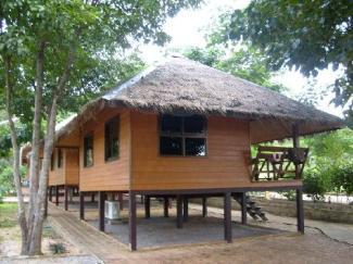 Private bungalow at Faasaai Resort