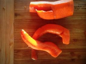 Funky organic juicing carrots