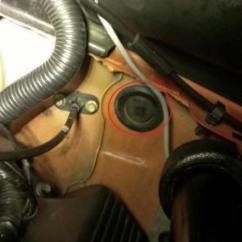 4 Wire Lambda Sensor Wiring Diagram Marquis Spa Parts How To Install A Wideband Air Fuel Ratio Gauge On Your 1979 2014 Note Some Mustangs The Clutch Cable May Not Allow Room For Oxygen Pass Through Grommet Alternatively You Can Use