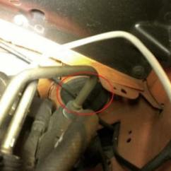 4 Wire Lambda Sensor Wiring Diagram Gm Headlight Switch How To Install A Wideband Air Fuel Ratio Gauge On Your 1979 2014 Note Some Mustangs The Clutch Cable May Not Allow Room For Oxygen Pass Through Grommet Alternatively You Can Use