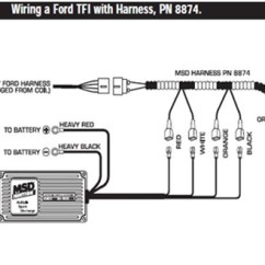 Msd Blaster 2 Wiring Diagram 2006 Pontiac G6 Gt 6al Ignition Module W Rev Control Installation Instructions There Is An Optional Harness Available From P N 8874 That Will Plug Straight Into The Coil And Make This Part Much Easier