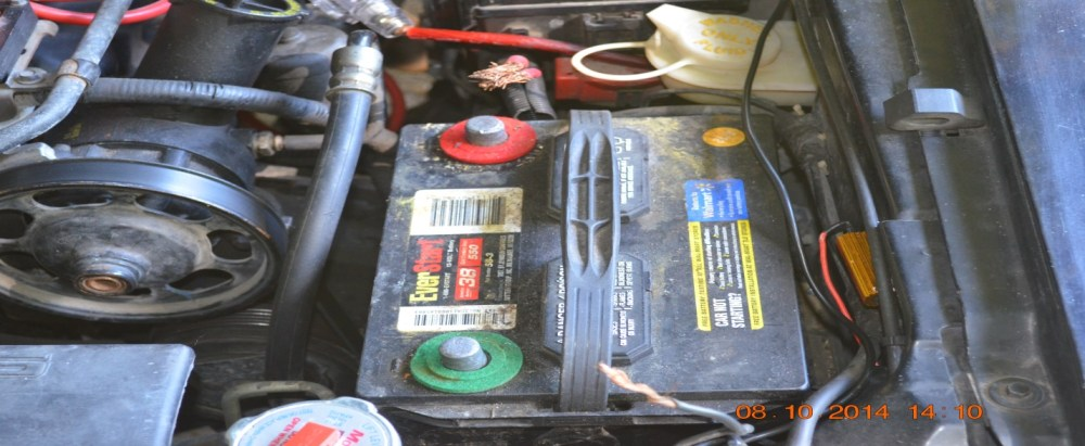 medium resolution of 3 now remove your old battery terminal connectors using your sockets or adjustable wrench