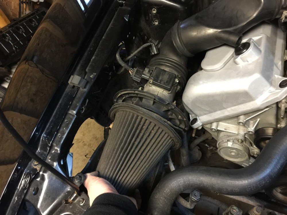 medium resolution of 10 loosen the hose clamp on the intake tube where it meets the throttle body you can use a flat head screwdriver or an 8mm socket