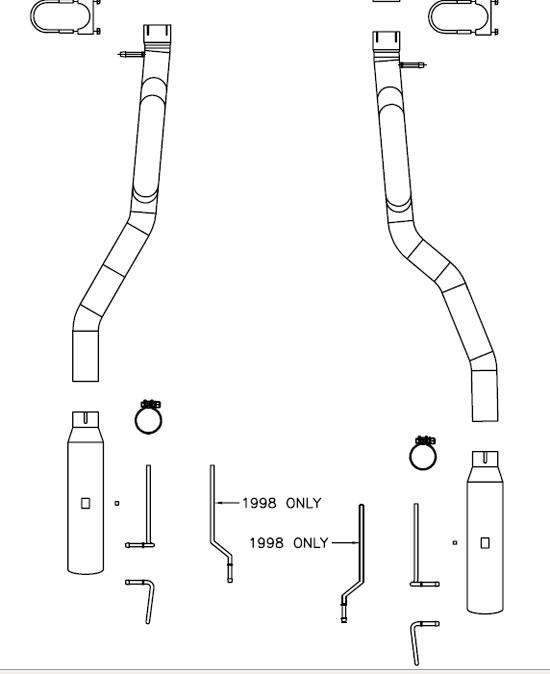 Magnaflow Catback Installation Guide ('94-'98 GT and Cobra