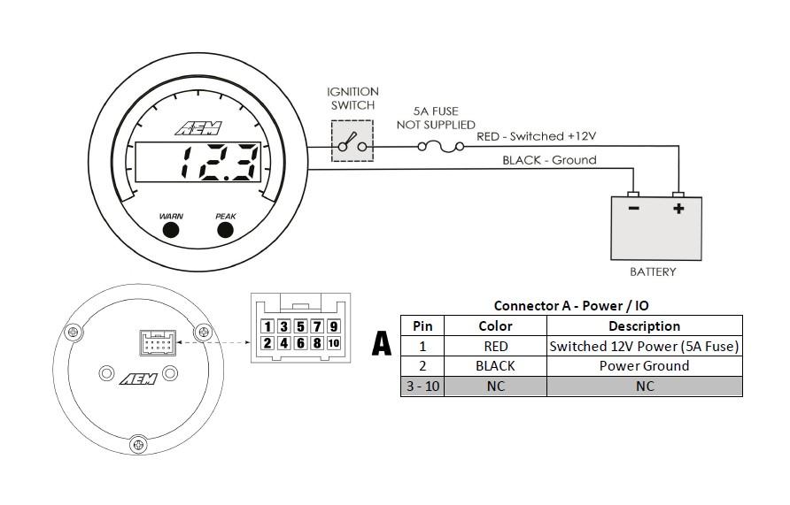 wiring voltmeter kereta