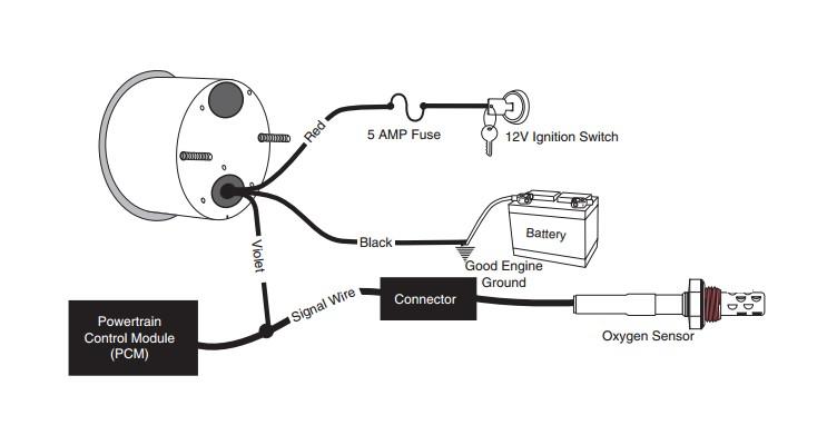 oxygen sensor wiring harness