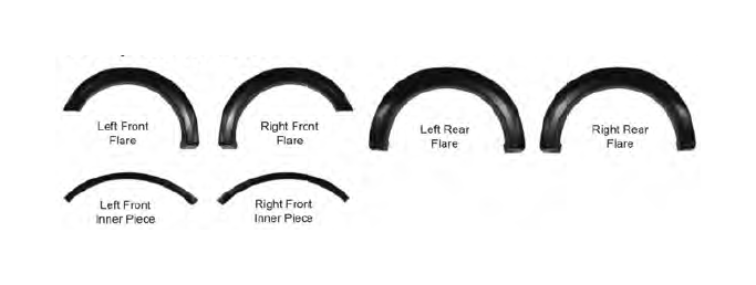 How to Install Barricade Premium Molded Fender Flares on