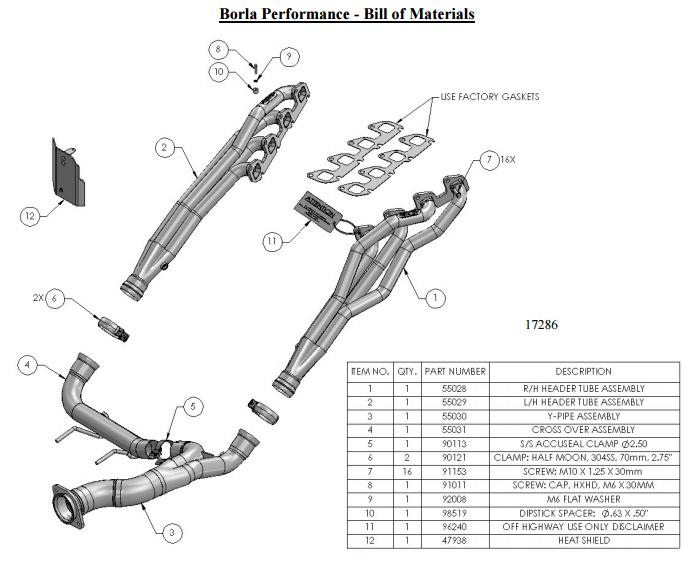 How to Install Borla Long Tube Headers on your F-150