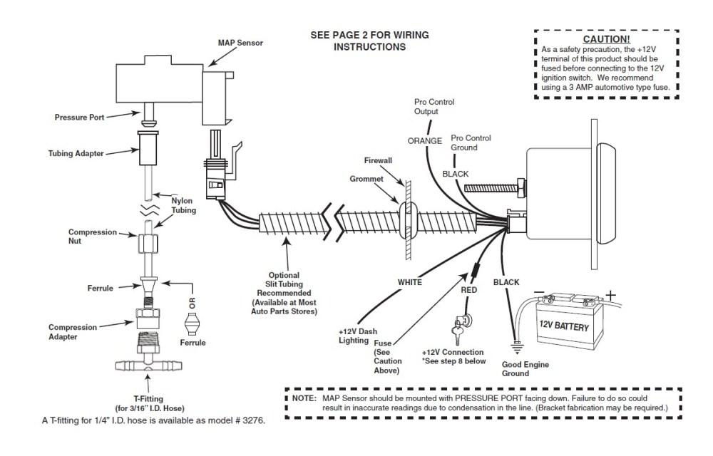 medium resolution of auto meter sport comp ii boost vac gauge w warning light electrical 79 19 all