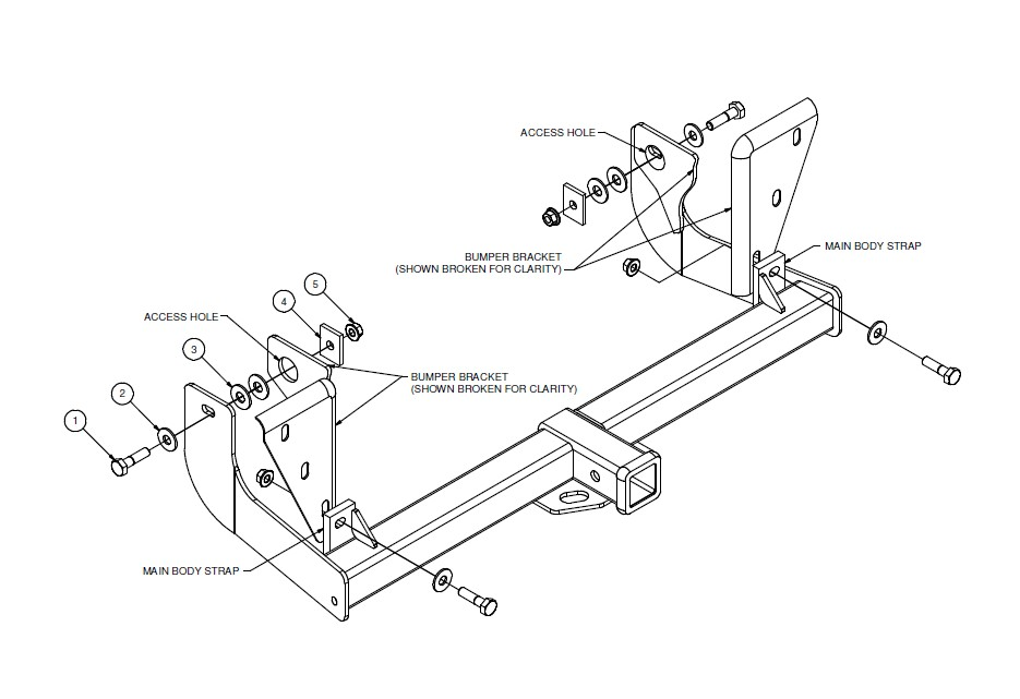 How to Install Curt Manufacturing Class III Trailer Hitch