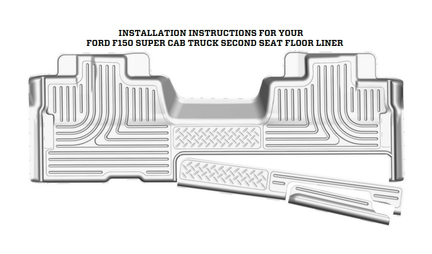 How to Install Husky X-Act Contour 2nd Seat Floor Liner