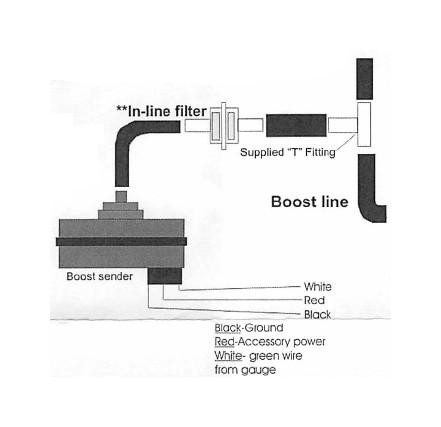 autometer temp gauge wiring diagram 2003 mitsubishi mirage radio prosport boost msd digital 6 ~ elsalvadorla