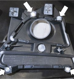 remove the four 4 screws and the fog lamp mounting bracket  [ 1001 x 836 Pixel ]