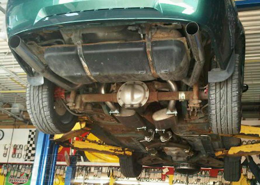 understanding mustang exhaust systems