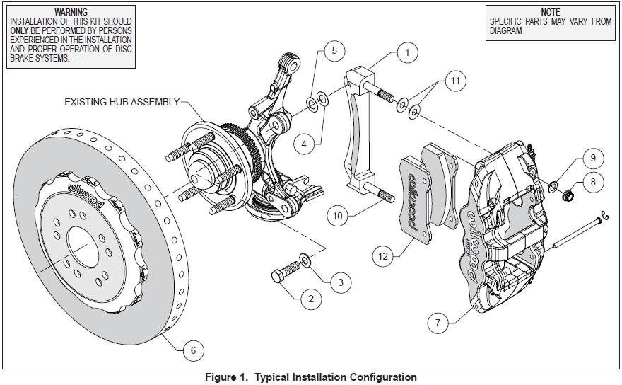 How to Install Wilwood AERO6 Dynamic Front Brake Kit
