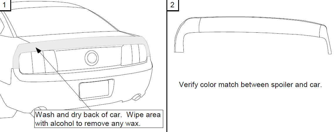 How to Install an Unpainted CDC Ducktail Spoiler on Your