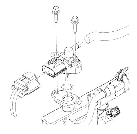Fuel Rail Pressure Sensor 2004 Ford F150 Wiring Diagram