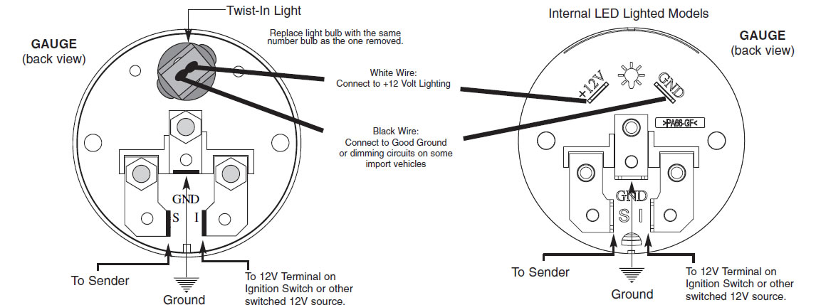 equus tachometer wiring instructions