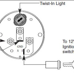 Stewart Warner Temp Gauge Wiring Diagram Security Camera How To Install An Auto Meter Pro-comp Ultra-lite Voltmeter - Electric On Your 1979-2012 ...