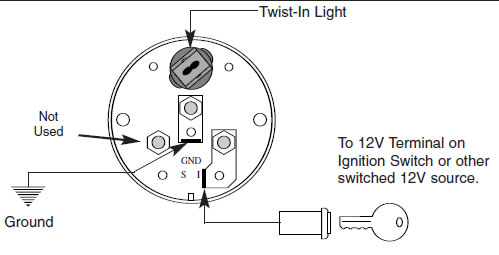auto meter water temp gauge wiring diagram  1986 ford f150
