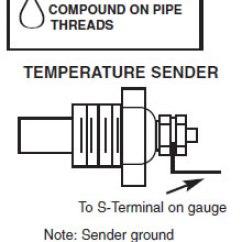 Temperature Gauge Wiring Diagram 1963 Impala Alternator How To Install An Auto Meter Pro Comp Ultra Lite Water Temp Pressure Gauges