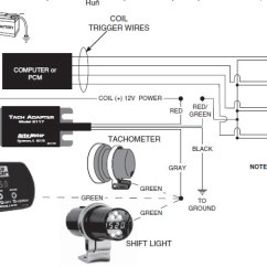 1997 Dodge Dakota Tach Wiring Diagram 2008 Chevy Malibu How To Install An Auto Meter Adapter On Your Mustang Connecting Individual Coil Per Plug Ignition System