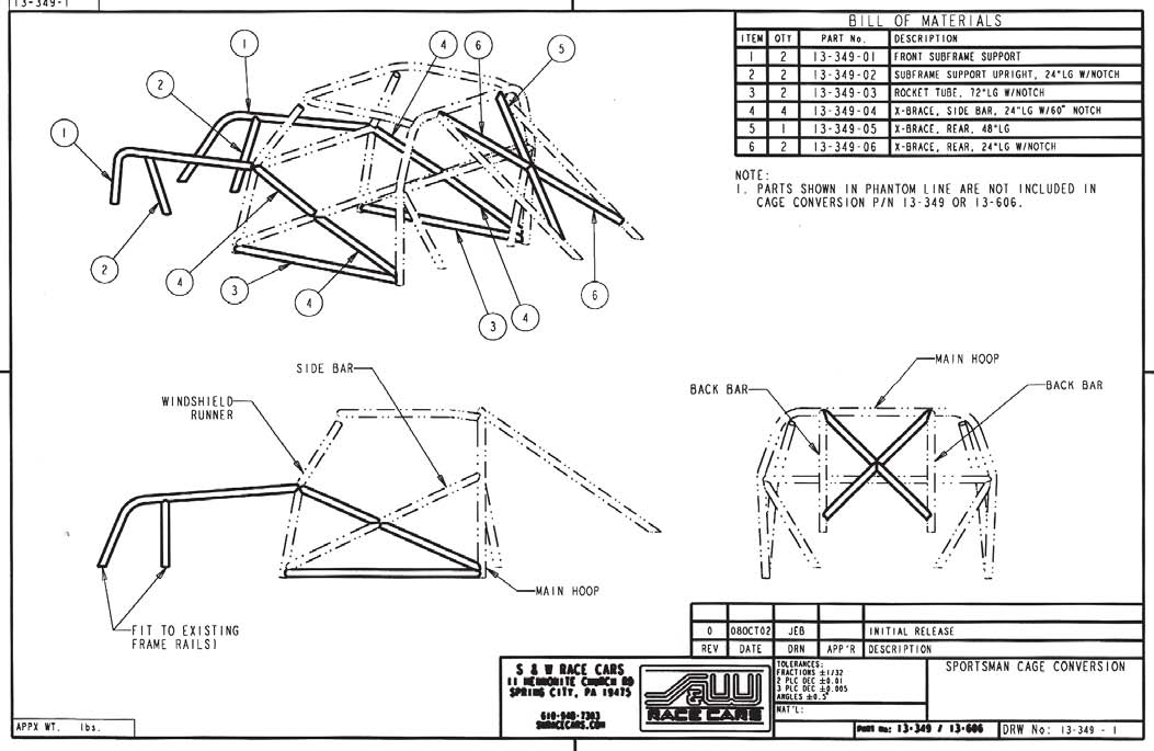 How to install an 8-Point Roll Bar on your Mustang