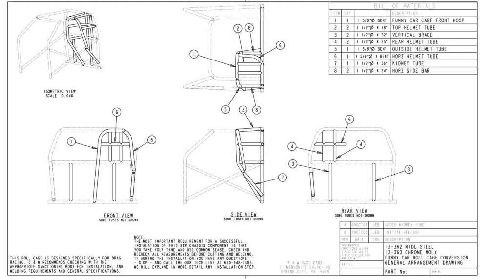 medium resolution of typical 10 point roll cage installation