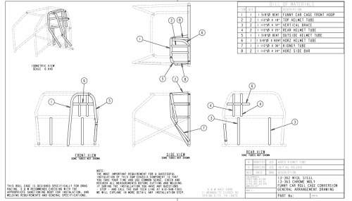 small resolution of typical 10 point roll cage installation