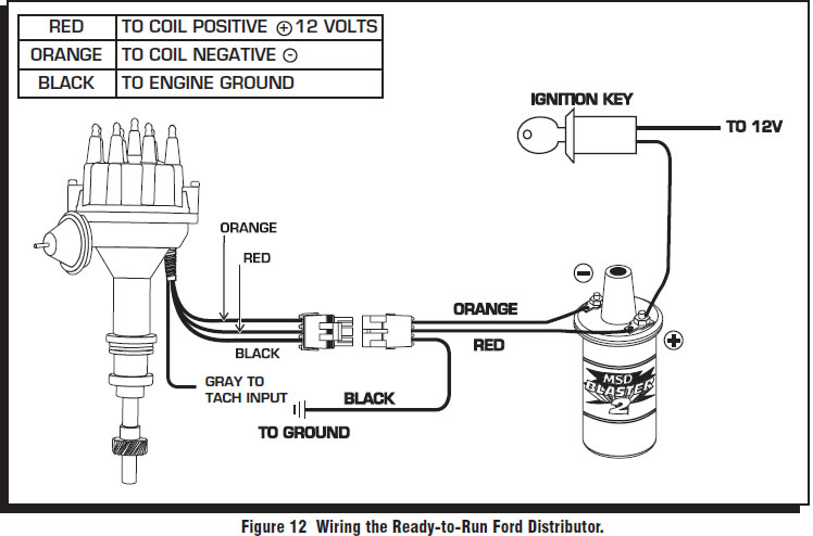 msd 6al wiring diagram chevy full human leg tendons how to install a pro billet ready run distributor on your 1979-1985 mustang | americanmuscle
