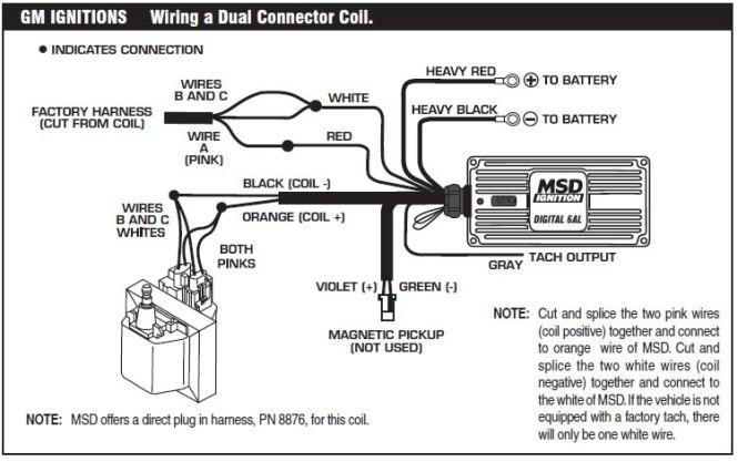msd 6420 wiring instructions - wiring diagram, Wiring diagram