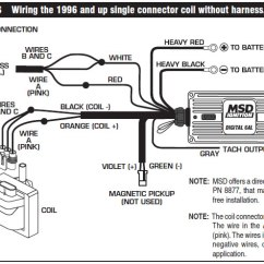 Msd Wiring Diagrams 6al Lennox Gcs16 Diagram How To Install An 6a Digital Ignition Module On Your 1979-1995 Mustang | Americanmuscle