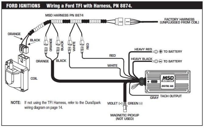 msd 6al wiring diagram ford  pendant wiring diagram