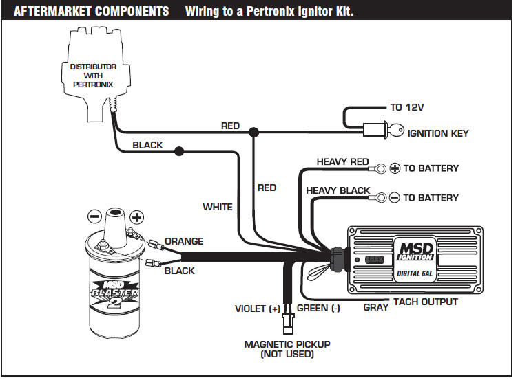 Inspiring Great 10 Msd 6al Wiring Diagram Instruction Contemporary