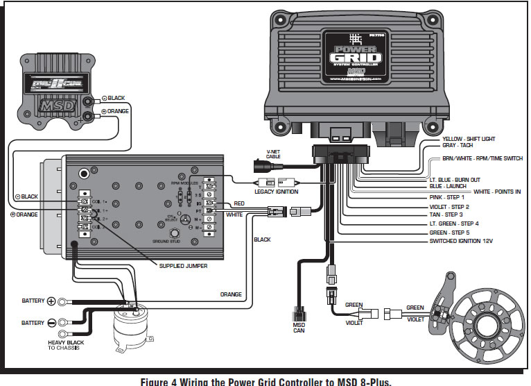 nitrous oxide wiring diagram for led boat trailer lights install with transbrake toyskids co how to an msd power grid system on your 1979 1995
