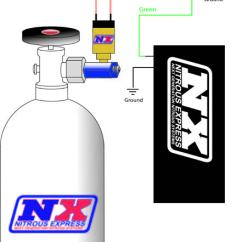 Nitrous Wiring Diagram With Window Switch 1981 Yamaha 450 How To Install An Nx Bottle Heater - D-4 On Your 1979-2012 Mustang | Americanmuscle